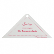 "Sew Easy Mini Companion Angle Ruler 5.25"" x 2.5"""